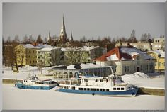 .chuch and town - Joensuu, Eastern Finland