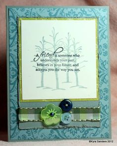 Friends kcs by Scrapacat - Cards and Paper Crafts at Splitcoaststampers