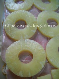 Paraiso: Tostas de jamón y piña