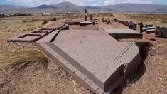 Megalith at Puma Punku, Bolivia. Ancient Ruins, Ancient Artifacts, Ancient History, Bolivia, Puma Punku, Ufo, Statue Art, Ancient Astronaut Theory, Mysterious Places