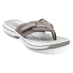 30d4e68e020b Clarks Brinkley Women s Brinkley Jazz Thong Sandal    Find out more details  by clicking the