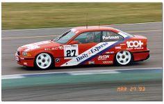 Alex Portman. Team Dynamics. BMW 318is. 1993 British Touring Car Championship Silverstone.
