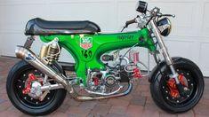 Custom 1970 Honda CT70 Monkey Bike Cafe Racer