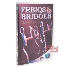 DVD Freios e Bridões - João do Freio - Rodeo West