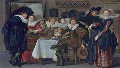 Dirck Hals, Merry Company, 1633