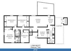 30x50 floor plans floor plans ranch home floor plans for 1500 sq ft metal building