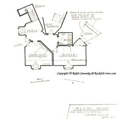 Walton\'s house floorplan | The Waltons Forum | For the Home ...