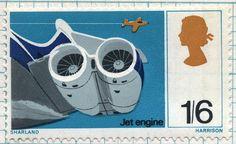 jet engine postage stamp by maraid, via Flickr