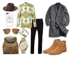 """""""Untitled #457"""" by d3finedimage on Polyvore featuring Levi's, Givenchy, Native Youth, Ben Sherman, Brixton, Casetify, Kenneth Cole, Maison Margiela, Michael Kors and Persol"""