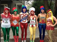 louisiana spice girls DIY costumes