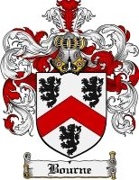 Bourne Coat of Arms / Bourne Family Crest