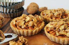 Appel-walnotentaartjes