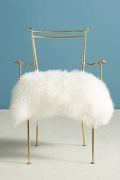 Slide View: Shag Puff Dressing Chair decorating ideas for the home interior design ideas living room decor apartment on a budget Living Room Chairs, Living Room Furniture, Home Furniture, Dining Chairs, Rustic Furniture, Furniture Chairs, Kitchen Chairs, Modern Furniture, Antique Furniture