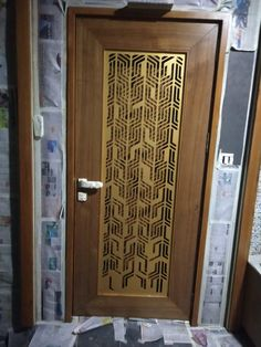 Pooja Room Door Design, Door Design Interior, Foyer Design, Main Gate Design, Screen Design, Metal Doors, Wooden Doors, Wooden Door Design, Wood Design