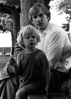 Young Gérard Depardieu...