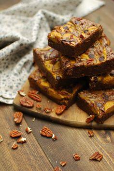 Katiecakes: Pumpkin Pie Cheesecake Brownies