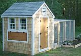 Best coop. Access to everything is essential. Being able to stand up inside will be a huge plus. I want one soo bad!
