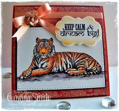 Sheena A Taste of India EZMount Stamp Set - Tiger Tiger