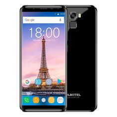 Oukitel K5000 18:9 Infinity - Add Free Gift,Black,Blue,China,fingerprint,France,Germany,gold,Italy,octa core,oukite,Russian Federation,smartphone,Spain,variable,Cellphones & Telecommunication,Mobile Phones,Octa Core