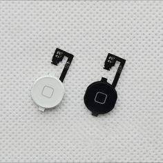 Black / White Home Button Menu with Flex Cable Key Cap Assembly for iPhone 4 4G Home Button Flex Repair Parts