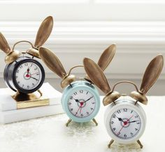 The Bunny Alarm Clock by Emily Current and Meritt Elliott for PBteen