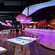 Restaurante MOJO iCuisine Interactive, em Taipei, Taiwan, China. Projeto do escritório Moxie Design. #restaurant #restaurante #sentidos #sense #artes #arts #art #arte #decor #decoração #architecturelover #architecture #arquitetura #design #interior #interiores #projetocompartilhar #davidguerra #shareproject #mojo #icuisine #interactive #mojoicuisineinteractive #mojorestaurant #taipei #taipe #taiwan #china #moxie #moxiedesign