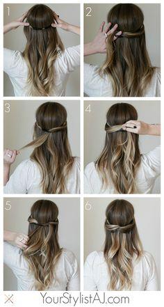 Your Stylist AJ Hair Tutorial