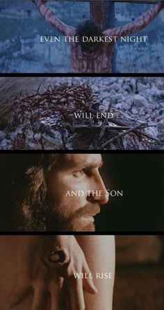 {les mis vs the passion of the CHRIST. the SON will rise} remember on this day of resurrection what JESUS did and why we celebrate. La Passion Du Christ, The Passion, Jesus Pictures, Jesus Is Lord, Son Of God, Jesus Loves Me, Bible Verses Quotes, Christian Quotes, Holy Spirit