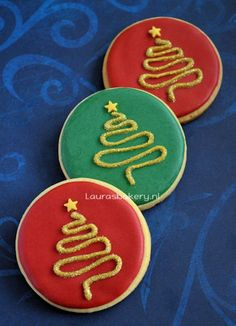 how to voor prachtige kerstboom koekjes Check more at http://hrenoten.com