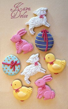 Easter cookies..... these are soooo adorable!!!!