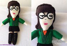 Muñeca de Daría 30cm :D My Violet  myvioletdesigns.com