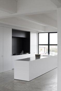 concrete floor kitchen - Pesquisa Google