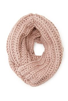 Chunky Knit Infinity Scarf | FOREVER 21 - 1000100115