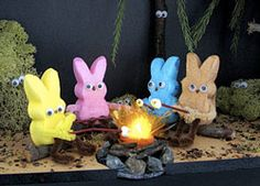 peeps peep show picture Peep Show, Easter Peeps, Happy Easter, Easter Jokes, Easter Food, Easter Party, Marshmallow Bunny, Roasting Marshmallows, Diy Ostern