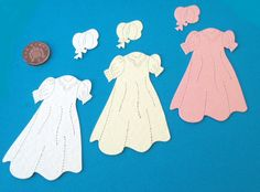 Christening robe die cut set no2 http://stores.ebay.co.uk/Special-Occasions-by-Lorna