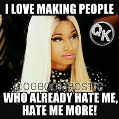 Usually can't stand Nicki Minaj but she's right on this one