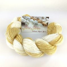 New: Golden Delicious gradient, on light fingering weight bamboo yarn!