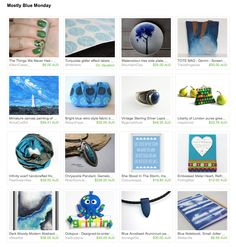 Mostly Blue by Nikki Tatter on Etsy Esty, Class Ring, Gifts, Blue, Jewelry, Presents, Jewlery, Jewerly, Schmuck