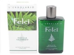 Felci (Fern) Shower Shampoo by L'Erbolario Lodi by L'Erbolario Lodi. $24.90. The Extracts of Maidenhair Fern and Polypody present in the fragrant foam of Felci Shower Shampoo by L'Erbolario perform their important skin toning and protective action, while the quaternised Panthenol and Honey combine to ensure hair is strong and splendid. Shower Shampoo is expressly formulated to simplify your daily morning or evening routine by combining both a bath and shower foa...