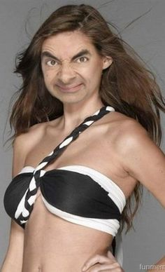 ... | 28 Creepy Photoshopped Pictures Of Mr. Bean