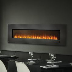 Napoleon 72 in. Electric Fireplace Insert with Glass $1499