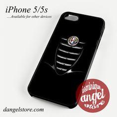 Alfa Romeo Black giulia Phone case for iPhone 4/4s/5/5c/5s/6/6 plus