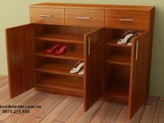 TỦ GIÀY GỖ 165 Tall Cabinet Storage, Bookcase, Shelves, Furniture, Home Decor, Shelving, Decoration Home, Room Decor, Book Shelves
