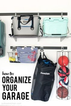 Tips and Instructions on How to Organize Your Garage-
