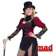 Burlesque Vampire Ladies Costume