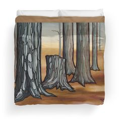 forest bed. http://www.redbubble.com/people/resonanteye/works/12928906-second-stand?p=duvet-cover