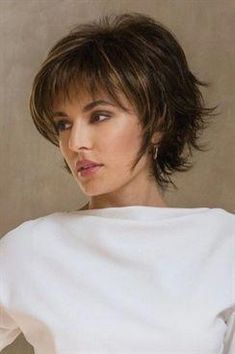 Wedding Hairstyles For Long Hair Large Sky by Noriko Wigs Short Hairstyles For Thick Hair, Short Hair Cuts, Bob Hairstyles, Wedding Hairstyles, Curly Hair Styles, Pixie Haircuts, Short Pixie, Layered Hairstyles, Pixie Cut