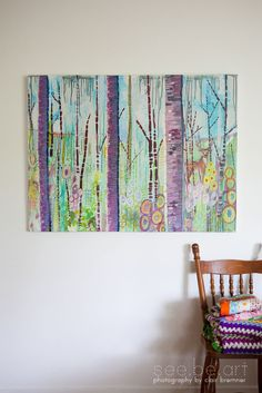 http://www.etsy.com/listing/90494556/large-original-abstract-deer-painting