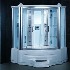 gemini steam shower jacuzzi whirlpool tub combo with lcd tv shopping