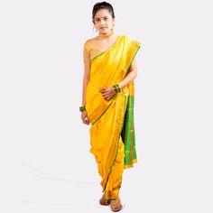 Bramhni Nauvari Saree
